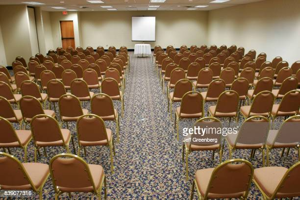 The interior of the meeting room at Best Western Harbor side Inn