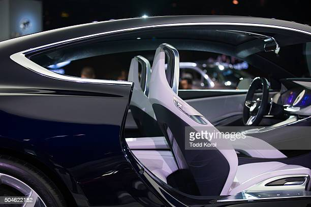 The interior of the new Buick Avista concept car on display at the North American International Auto Show in Detroit Michigan Toronto Star/Todd Korol...
