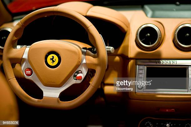 Ferrari California Interior Stock-Fotos und Bilder | Getty Images