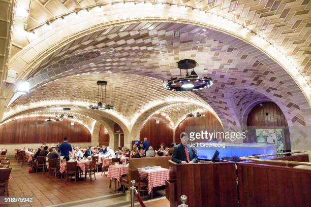 The interior of the Oyster Bar at Grand Central Terminal in Manhattan