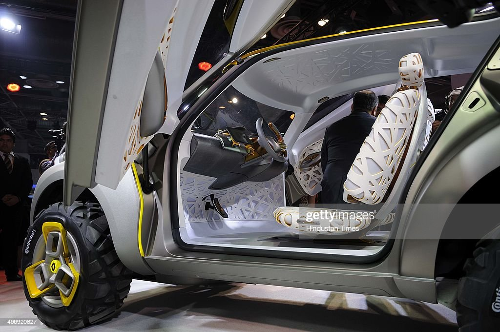 The Interior Of The Renault Kwid Concept Car Is Pictured During The News Photo Getty Images