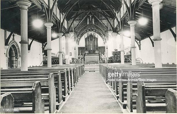 The interior of the St Saviour's Church in Pietermaritzburg.