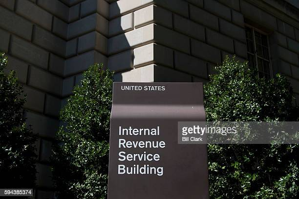 The Internal Revenue Service building as seen on Tuesday Aug 23 2016