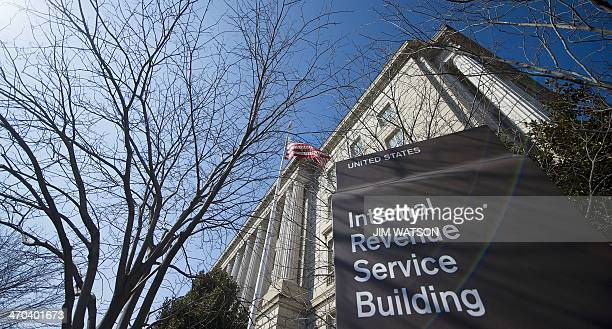 The Internal Revenue Service building is viewed in Washington DC February 19 2014 AFP PHOTO / Jim WATSON
