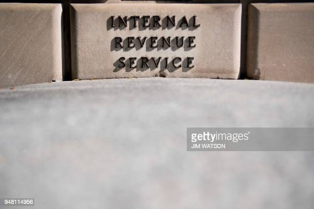 The Internal Revenue Service building is viewed in Washington DC on April 18 2018 Americans are getting an extra day to file their taxes after key...
