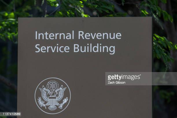 The Internal Revenue Service building stands on April 15 2019 in Washington DC April 15 is the deadline in the United States for residents to file...