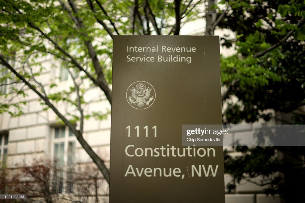IRS Calls For Some Employees To Return To Offices To Deal With Backlog : News Photo