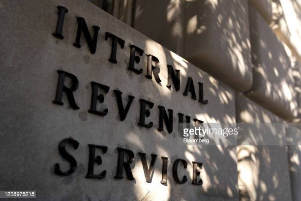 The Internal Revenue Service headquarters in Washington, D.C., U.S., on Thursday, Oct. 8, 2020. The White House shifted tack on Thursday, signaling...