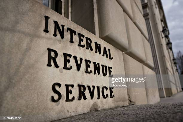 The Internal Revenue Service headquarters stands in Washington DC US on Tuesday Jan 8 2019 The IRS will issue refunds to taxpayers even if the US...