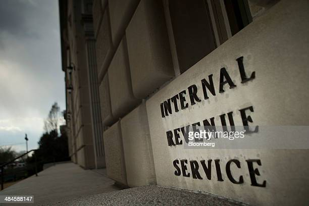 The Internal Revenue Service headquarters strands in Washington DC US on Wednesday April 9 2014 The deadline for filing 2013 US taxes is April 15...
