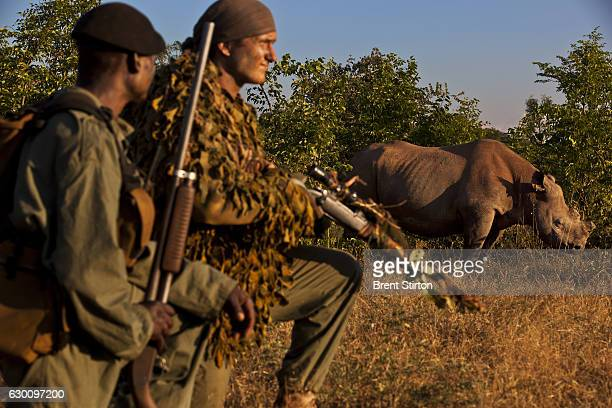 The International AntiPoaching Foundation leading a Probono training workshop for Rangers who have come from all over Zimbabwe on April 5 2011 in...