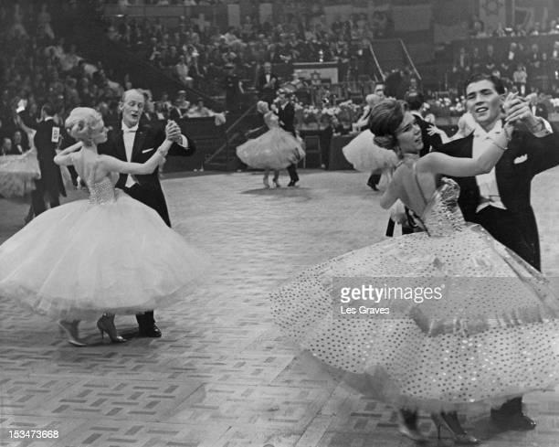 The International Ballroom Dancing Championships for Amateurs at the Royal Albert Hall in London November 1960