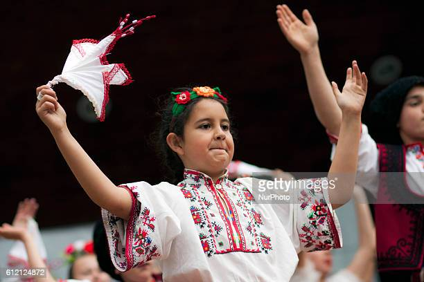 The International Children's Folklore Festival Sofia 2014 held in Sofia from 24 to 27 April 2014 Participants from Bulgaria Bosnia and Herzegovina...