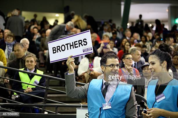 The International Convention of Jehovahs Witnesses is held at Etihad Stadium in Melbourne October 18 2014 The fourday event has attracted more than...