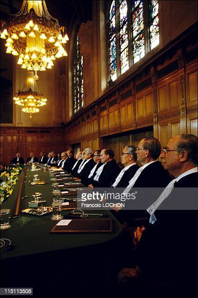 The International Court of Justice in The Hague Netherlands in May 1985