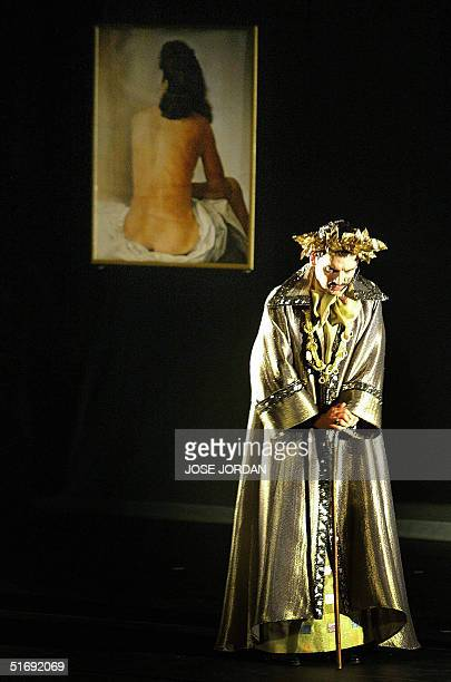 The international opening of the Dali Folies show produced by French designer Pierre Cardin is performed by its own theater compan Espace Piere...