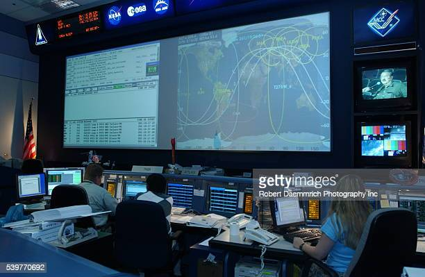 the International Space Station mission currently in orbit is monitored at the active Mission Control Center NASA held handson demonstration...