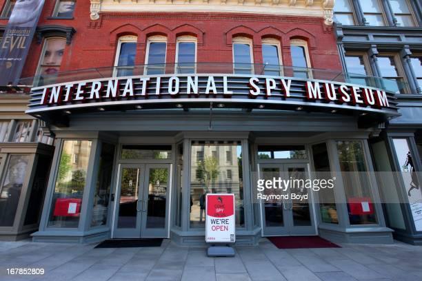 The International Spy Museum in Washington DC on APRIL 20