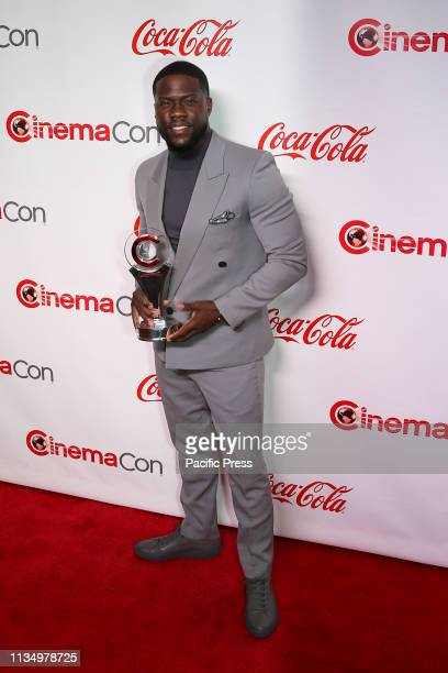 The 'International Star of the Year' awardee Kevin Hart during the CinemaCon Big Screen Achievement Awards at Omnia Nightclub at Caesars Palace...