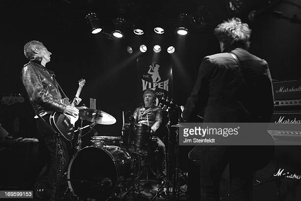The International Swingers featuring Gary Twinn Clem Burke and James Stevenson perform at The Viper Room in Los Angeles California on May 17 2013