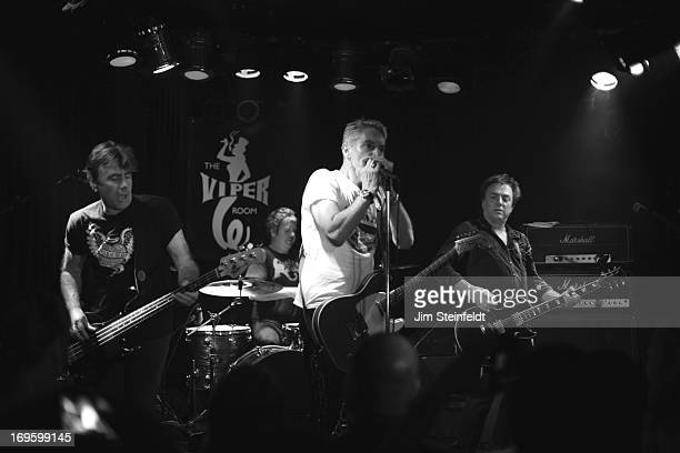 The International Swingers featuring Glen Matlock Clem Burke Gary Twinn and James Stevenson perform at The Viper Room in Los Angeles California on...