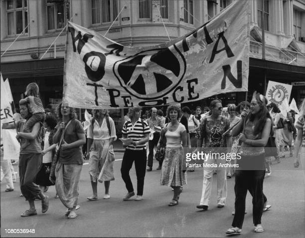 The International Women's Day 1981 rally started at the Town Hall at 11am today The rally then marched from the Town Hall to Victoria Park Via George...
