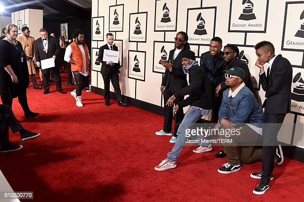 The Internet attends The 58th GRAMMY Awards at Staples Center on February 15 2016 in Los Angeles California