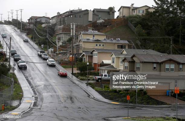 The intersection of Glenview Drive and Earl Avenue, where an underground PG&E gas pipeline exploded seven years ago destroying 38 homes and killed...
