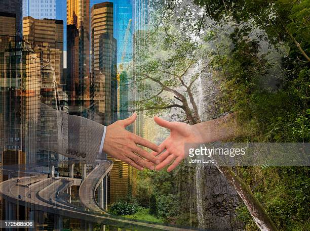 The Intersection Of Modern Progress And Nature