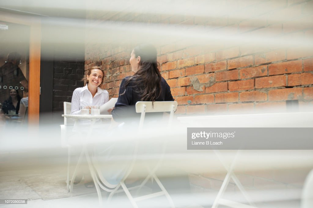 The Interview 11 : Stock Photo