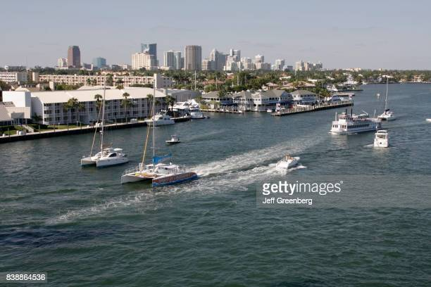 The Intracoastal Waterway at Fort Lauderdale