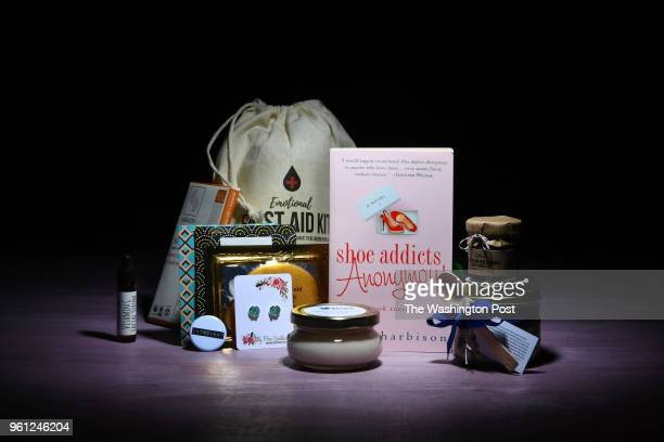 The Introverted Retreat boxed book subscription comes loaded with items to pamper along with the book Shoe Addicts Anonymous by Beth Harbison May 16...