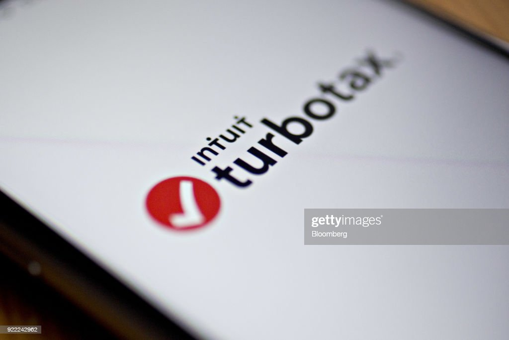 The Intuit Inc. TurboTax application is displayed for a photograph on an Apple Inc. iPhone in Washington, D.C., U.S., on Friday, Feb. 16, 2018. Intuit Inc. is expected to release earnings figures on February 22. Photographer: Andrew Harrer/Bloomberg via Getty Images