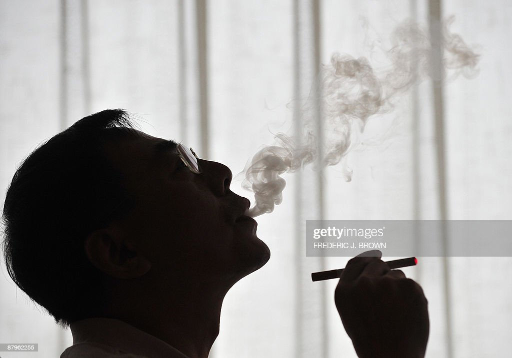 The inventor of the electronic cigarette : News Photo