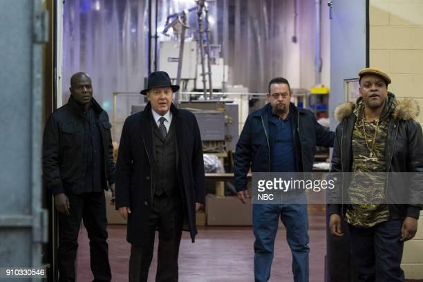 THE BLACKLIST 'The Invisible Hand ' Episode 513 Pictured Hisham Tawfiq as Dembe Zuma James Spader as Raymond 'Red' Reddington Lenny Venito as Tony...