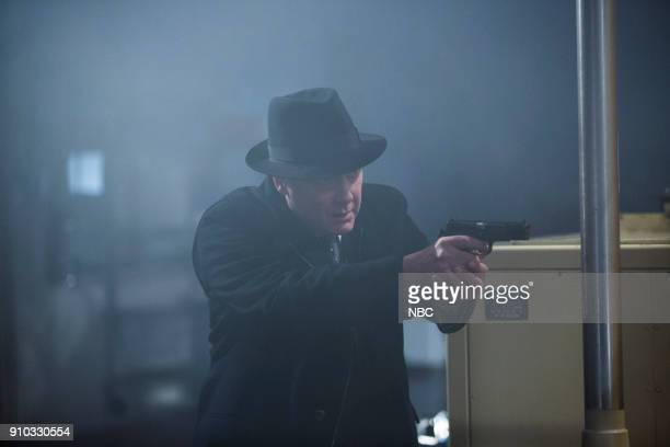 THE BLACKLIST 'The Invisible Hand ' Episode 513 Pictured James Spader as Raymond 'Red' Reddington