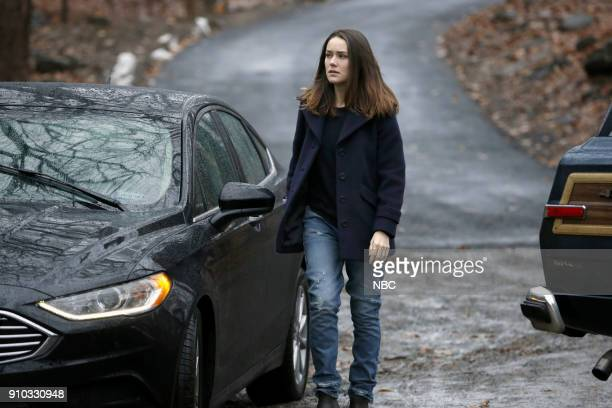THE BLACKLIST 'The Invisible Hand ' Episode 513 Pictured Megan Boone as Elizabeth Keen