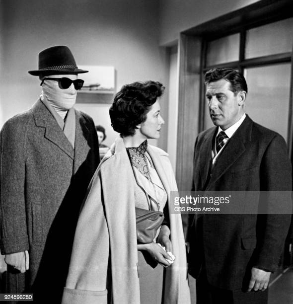 The Invisible Man is the character Dr Peter Brady Lisa Daniely and Duncan Lamont star in an episode of the CBS Television program The Invisible Man...