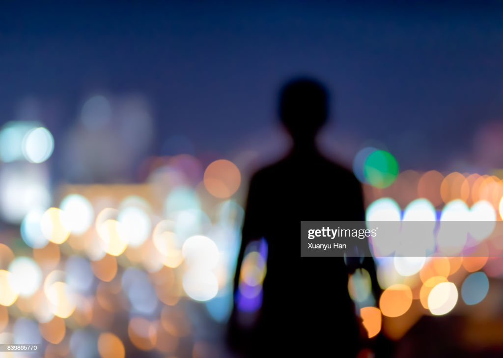 The invisible man : Stock Photo