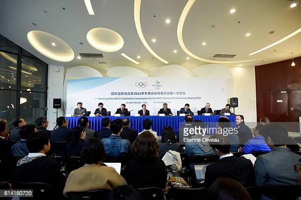 The IOC Coordination Commission of the XXIV Olympic Winter Games Beijing 2022, , Chang Yu, Ma Yujun, Yang Shuan, Zhang Jiandong, Juan Antonio...