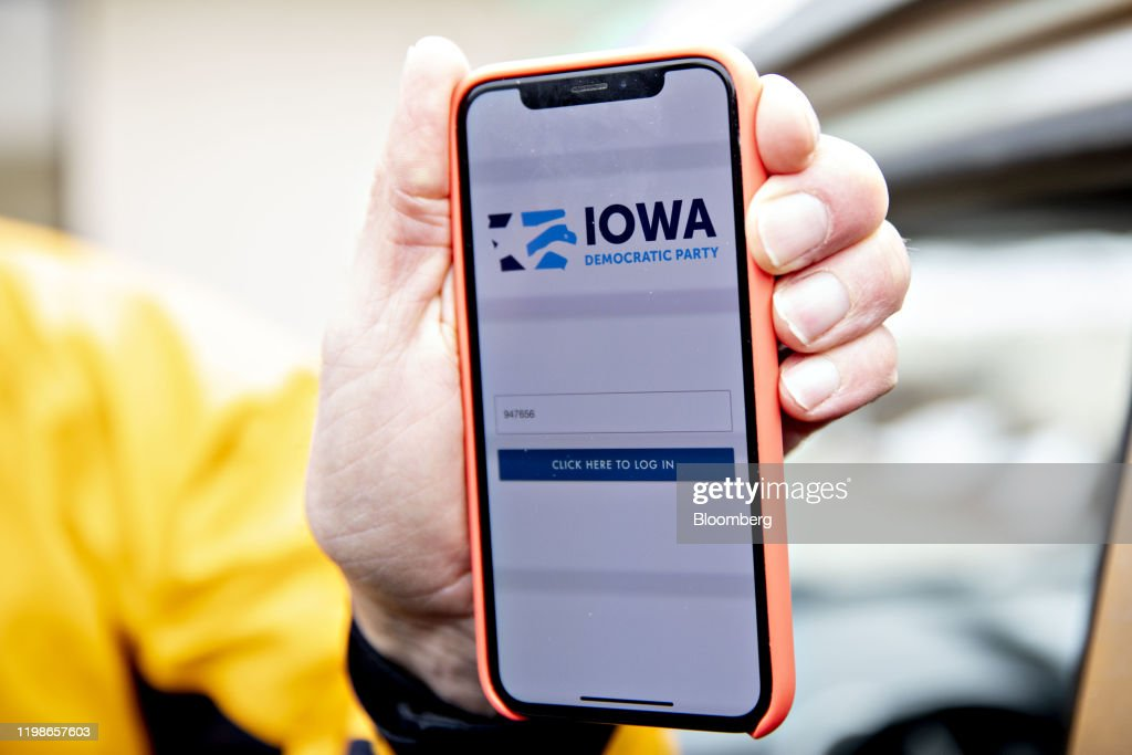 Iowa Caucus Meltdown Tied To Democrats' Little-Tested App : ニュース写真