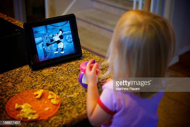 "The ipad may be ""magical"" and ""revolutionary"" but to our little girl it is a way to watch her favorite Mickey Mouse shorts - that..."