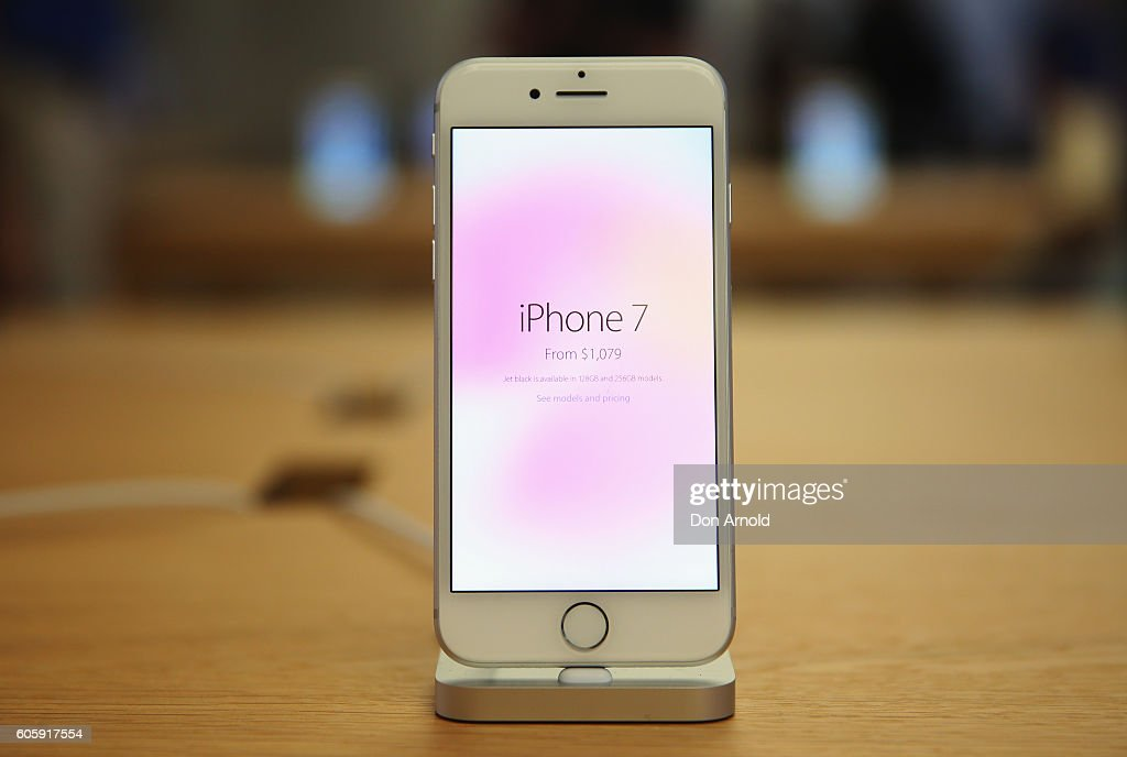 The IPhone 7 Is Seen Displayed Inside Apple Store On September 16 2016 In