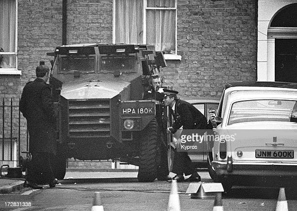 The Iranian Embassy siege in South Kensington London 1980
