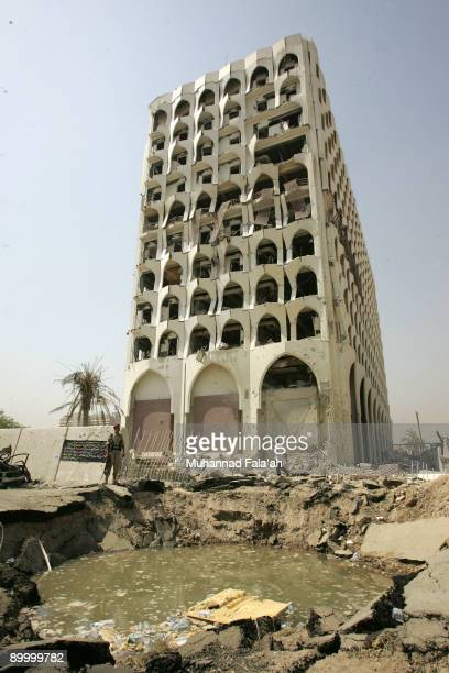 The Iraqi Foreign Ministry is seen after a bombing on Wednesday on August 22 2009 in Baghdad Iraq 11 highranking security officials from the Iraqi...