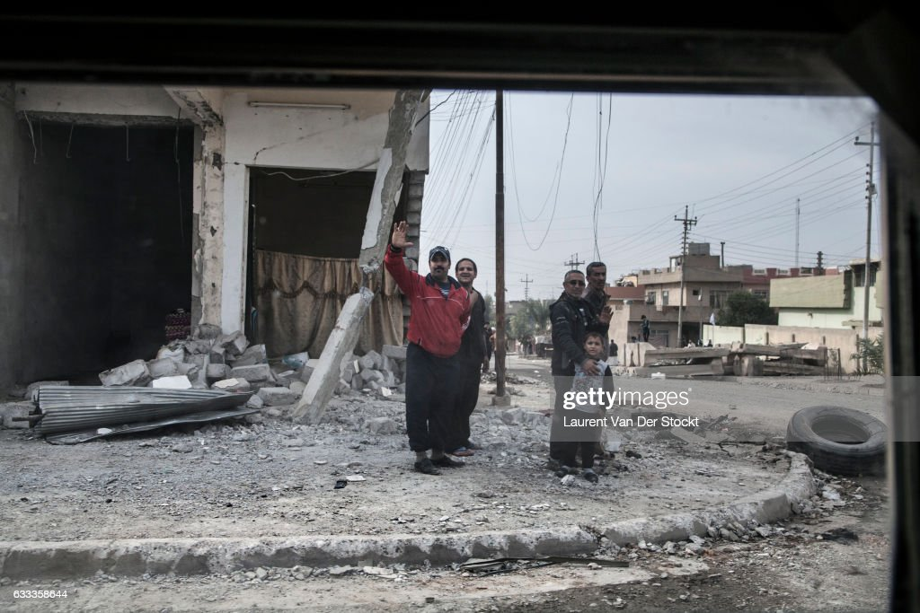 ISOF and the Battle for Mosul : ニュース写真