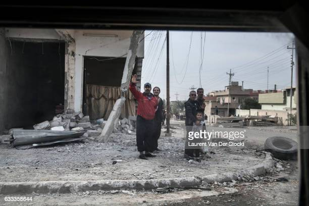 The Iraqi Special Operations Forces took total control of the Saddam district where members of the Islamic State where still resisting yesterday....