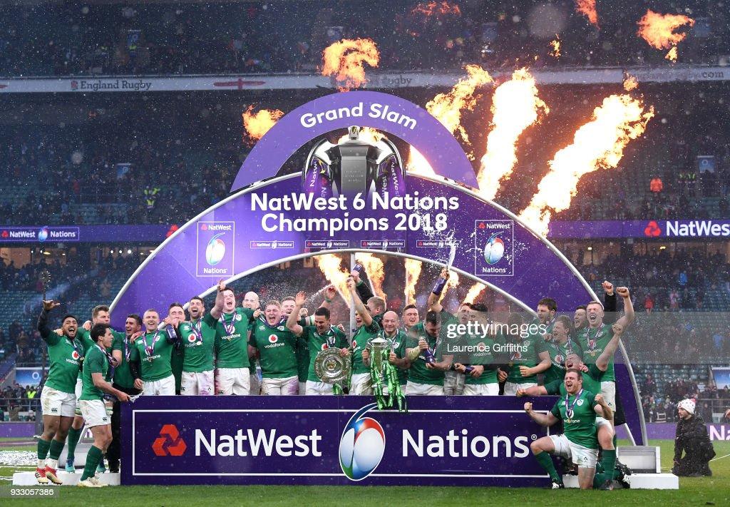 England v Ireland - NatWest Six Nations : Photo d'actualité
