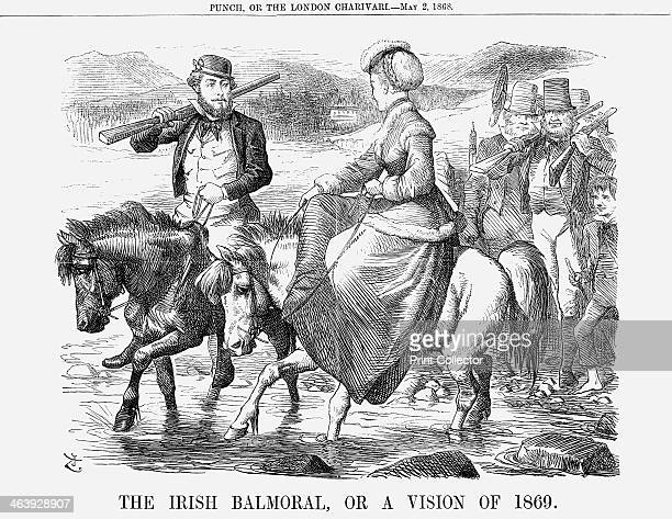 'The Irish Balmoral Or A Vision of 1869' 1868 With the Irish question firmly in the limelight Punch looks to the future In midApril 1868 the Prince...