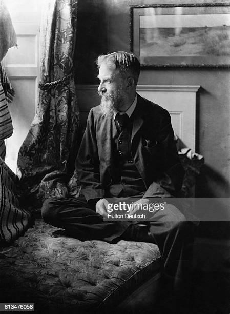 The Irish dramatist essayist and critic George Bernard Shaw